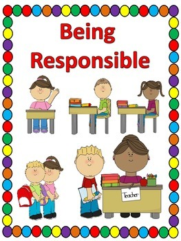 Being Responsible Storybook -  School Responsibility