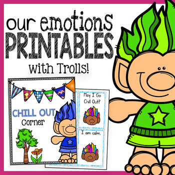 Being Responsible With Our Emotions: Ideas and Activities Pack Featuring Trolls!