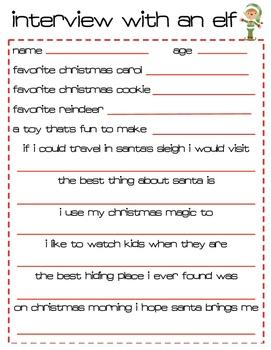 Being Santa's Helper {creative writing journal for little elves}