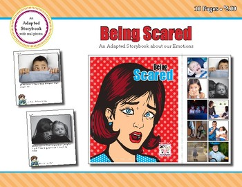 Being Scared - Adapted Book