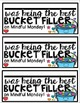 Being The Best Bucket Fillers