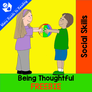 Social Skills: Being Thoughtful FREEBIE
