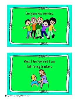 Being Worried Social Story