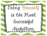 Being Yourself Banner