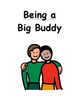 Being a Big Buddy Social Story