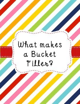 Being a Bucket Filler