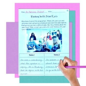 Being a Detective 2-Using your Eyes for Social Cues, Inferences, Speech Therapy