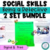 Being a Detective Bundle-Using your Eyes for Social Cues, Social Skills