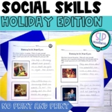 Being a Detective Using your Eyes Social Skills Holidays Speech Therapy No Print