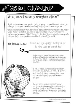 Being a Global Citizen - A Makerspace Project