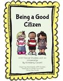 Being a Good Citizen: A K/1 Social Studies Unit
