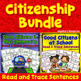 Being a Good Citizen Bundle: At School and in the Community - Citizenship