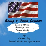 Being a Good Citizen Social Stories, Activity and Power Cards