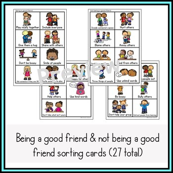 Being a Good Friend Activities