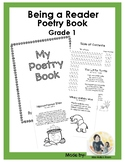 Being a Reader Collaborative Classroom Poetry Book, Grade 1