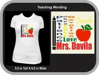 Being a Teacher means...