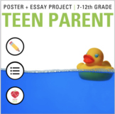 Being a Teen Parent Project: # Life Goals- Health Class- S