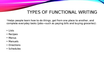 Being a Writer Grade 6: Functional Writing
