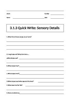 Being a Writer Worksheet-PowerPoint Companion Unit 3 Week 1