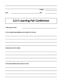 Being a Writer Worksheet-PowerPoint Companion Unit 3 Week 2