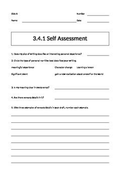 Being a Writer Worksheet-PowerPoint Companion Unit 3 Week 4