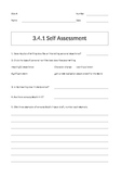 Being a Writer Worksheet-PowerPoint Companion Unit 3 Week 4