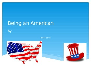Being an American Editable