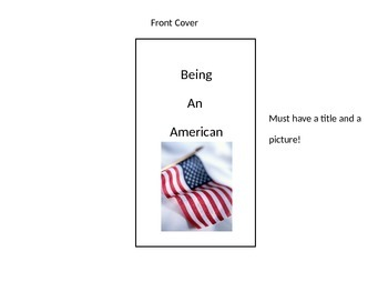Being an American Unit Culminating Activity