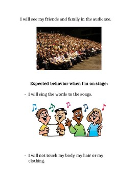Being in a Concert social story