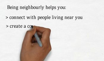 Being neighbourly introductory video and worksheet