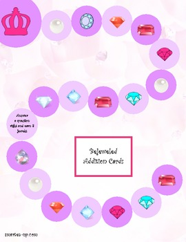 Bejeweled Addition, Plus 1 and Doubles