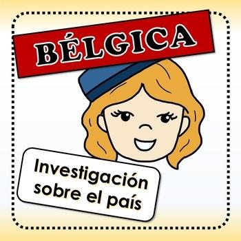 Bélgica - actividades para investigar sobre el país