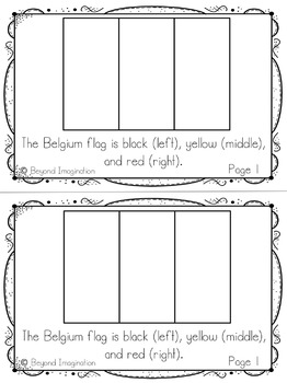 Belgium Country Study | 48 Pages for Differentiated Learning + Bonus Pages