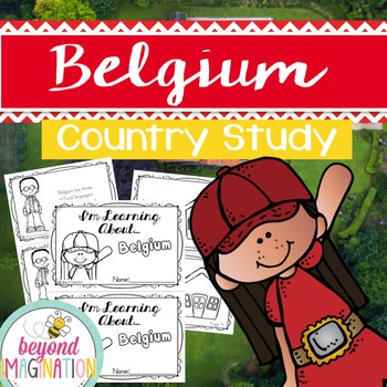 Belgium Booklet Country Study Project Unit