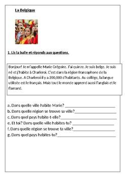 Belgium / La Belgique / La francophonie / Les pays francophones