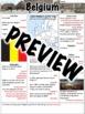 Belgium Worksheet