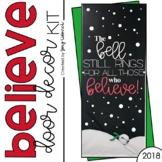 Believe: Door Decoration Set (December)