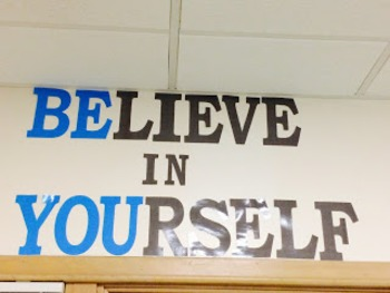 Believe In Yourself; Be You -Wall Decor-