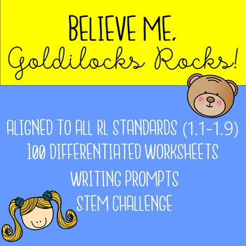 Believe Me, Goldilocks Rocks! CCSS Companion Pack