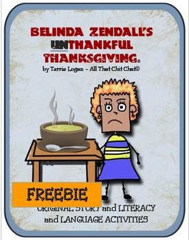 Belinda Zendall's UnThankful Thanksgiving - FREEBIE
