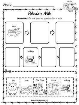 Belinda by Pamela Allen Worksheets