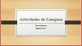 Bell Activities Spanish 1 Semester 1