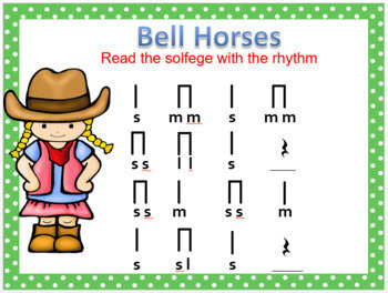Bell, Horses {Kodaly Song to Teach la, ti-ti & ta}