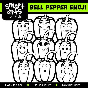 Bell Pepper Emoji Clip Art