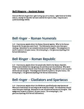 Bell Ringer - Ancient Rome