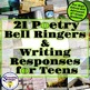 Bell Ringer Bundle: Bell Ringers for Any Classroom, Narration, and Poetry