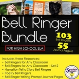 Bell Ringer Bundle: For Any Classroom, Narration, and Poet