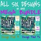 Bell Ringer Digital Interactive Notebook: Using Google Classroom (MEGA BUNDLE)