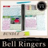Bell Ringer Journal BUNDLE Grades 3-5: Journal, Digital, &