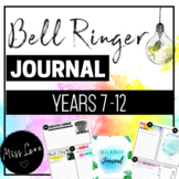 Bell Ringer Journal High School